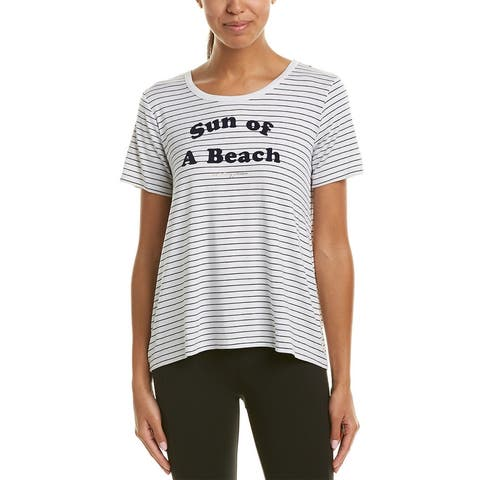 Betsey Johnson Performance Sun Of A Beach T-Shirt