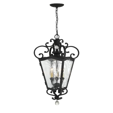 Brixton Ivy - 3 Light Outdoor Chain Hung