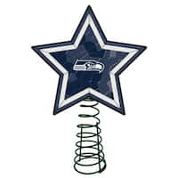 Seattle Seahawks Mosaic Tree Topper