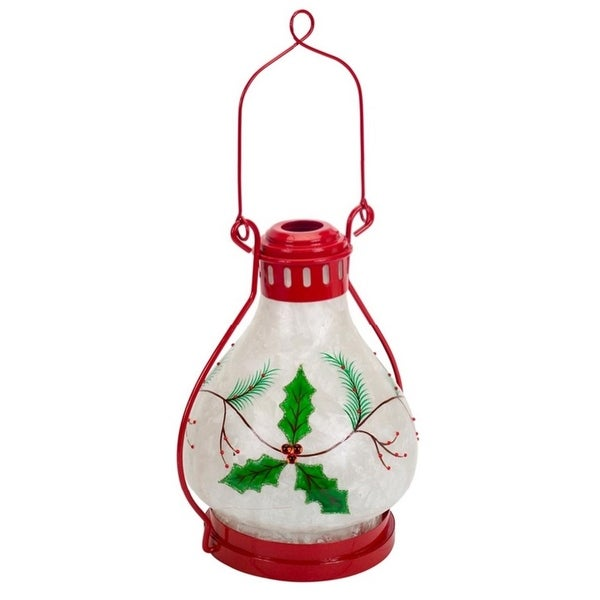 Shop 17 Quot Red And White Holly Berry Battery Operated Led