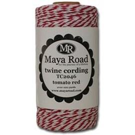 Tomato Red - Maya Road Twine Cording 100Yd