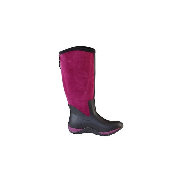 1812f9f79 Shop Muck Boot's Arctic Adventure Suede Zip Boots w/ Warm Fleece Lining -  Size 8 - Free Shipping Today - Overstock - 17910151