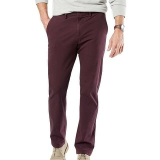 Link to Dockers Mens Pants Red Size 38x32 Alpha Khaki Slim Fit Chino Stretch Similar Items in Big & Tall