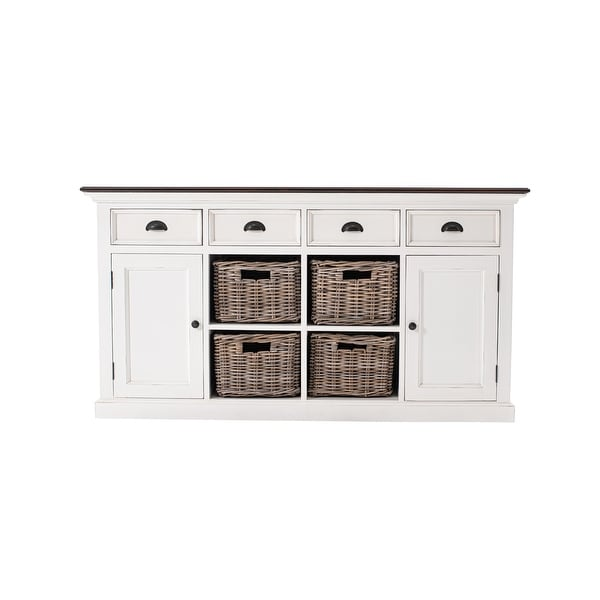 Buffet with 4 Basket Set - 62.99 x 19.69 x 33.46. Opens flyout.