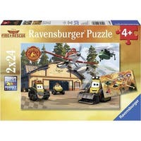 Disney Planes 2 Always in Action 24 Piece Puzzle 2-Pack, Assorted Disney by