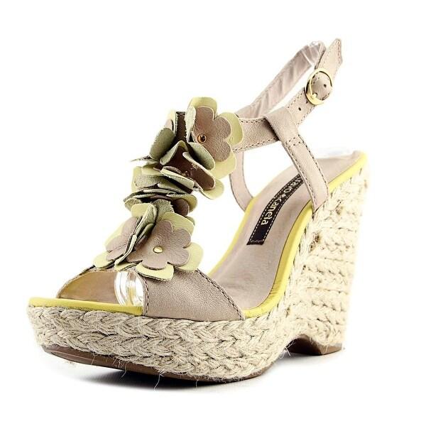Cravo & Canela Thalia Women Brown/Light Yell Sandals