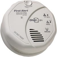 First Alert Sco501Cn-3St Onelink Battery-Operated Combination Smoke & Carbon Monoxide Alarm With Voice Location