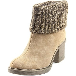 Dirty Laundry Rise N Shine Women Round Toe Synthetic Tan Ankle Boot