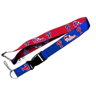 Philadelphia Phillies Reversible Clip Lanyard Keychain Id Ticket Holder