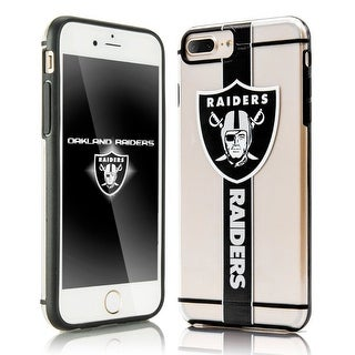 Forever Collectibles Hydroclear SMU 3D Print Dual Layer Shock Absorbing Protection Case For iPhone 7 Plus / iPhone 8 Plus