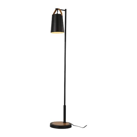 Cedar Hill 61-in Arched Floor Lamp with metal shade