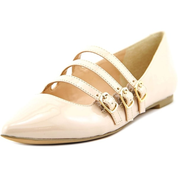 Julianne Hough Emmy Women Pointed Toe Synthetic Nude Mary Janes