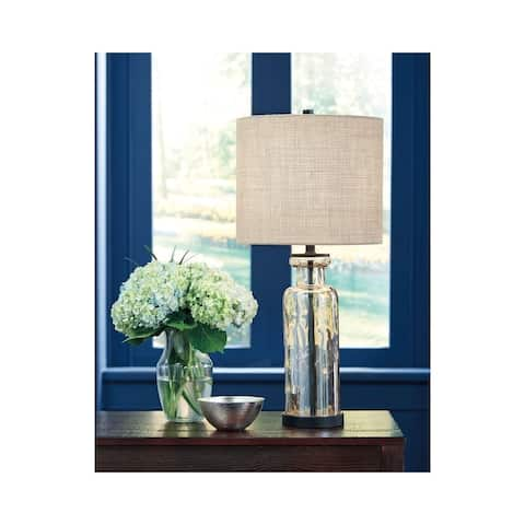 Laurentia Champagne 29 Inch Table Lamp - 13x13x28
