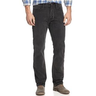Ring of Fire Hillside Slim Straight Jeans Rocky Peak Black 30 x 32