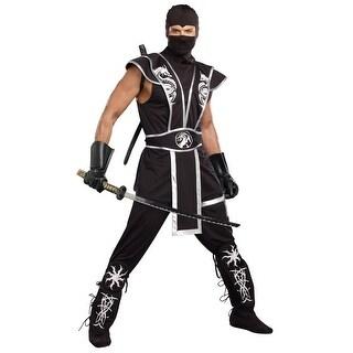 Blades Of Death Men's Ninja Costume