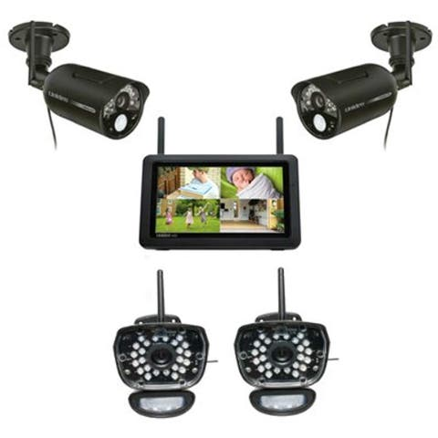 Uniden UDR777HD + UDRC58HD-2 HD Video Surveillance w/ 7 Inch Touchscreen Monitor