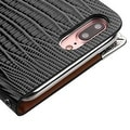 Insten Leather Crocodile Skin Case Cover with Wallet Flap Pouch/ Diamond For Apple iPhone 7 Plus - Thumbnail 4