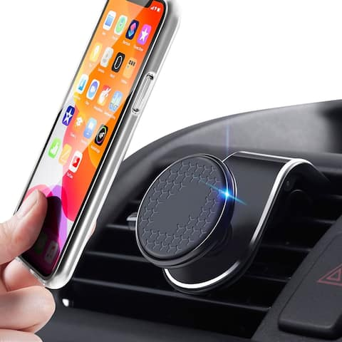 Magnetic Car Air Vent Phone Holder Mount For iPhone Smartphone GPS Universal