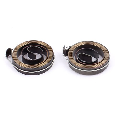 Unique Bargains Vacuum Cleaner Drill Press Quill Return Coil Spring Assembly Tool 8mm Width 2pcs