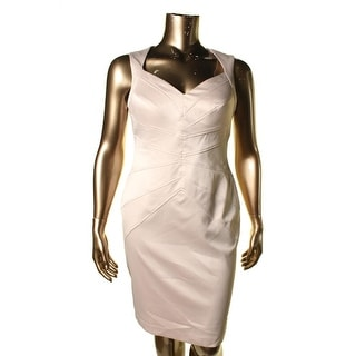 Jessica Simpson Womens Seamed Sleeveless Cocktail Dress - 14