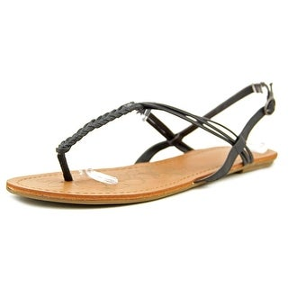 Roxy Bhutan Women Open-Toe Synthetic Black Slingback Sandal