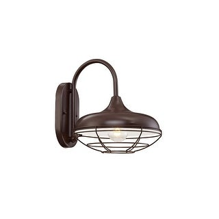 """Millennium Lighting 5441 R Series 1-Light 11"""" Tall Outdoor Wall Sconce with Wire Guard - N/A"""