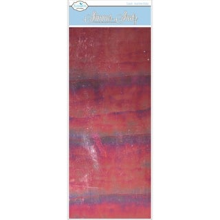 "Mylar Shimmer Sheetz 5""X12"" 3/Pkg-Ruby Gemstone"