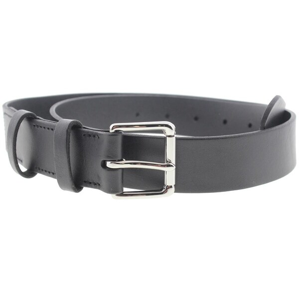 Polo Ralph Lauren Mens Leather Flat Strap Dress Belt