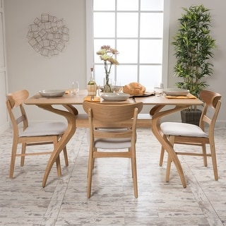 Link to Carson Carrington Ballerup Rectangular 5-piece Dining Set by Similar Items in Dining Room & Bar Furniture