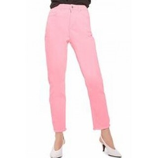 TopShop NEW Pink Women's Size 25X30 Slim Skinny Stretch Ankle Jeans