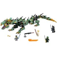 LEGO Ninjago Movie Green Ninja Mech Dragon 544-Piece Building Kit 70612 - Multi