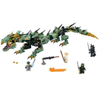 LEGO Ninjago Movie Green Ninja Mech Dragon 544-Piece Building Kit - Multi