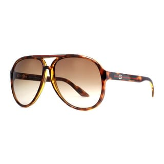 GUCCI Aviator GG 1627/S Unisex 791/1W Havana Brown/Grey Sunglasses - 59mm-12mm-130mm