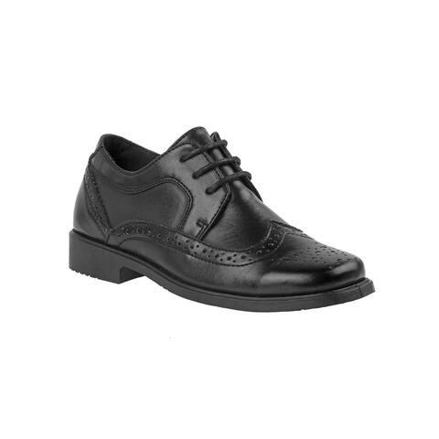 Josmo Big Boys Black Lace Dress Shoes