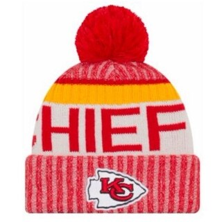 a080182c3f4a8 Shop New Era Kansas City Chiefs NFL Knit Hat Cap Winter Beanie Skullcap  11460394 - Free Shipping On Orders Over  45 - Overstock - 18609189