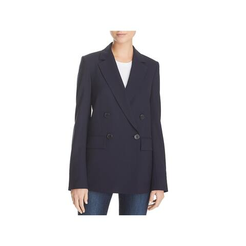 Theory Womens Blazer Wool Long Sleeve - 4