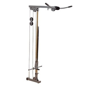 Body-Solid Powerline Lat Attachment for Powerline Power Rack - Metal