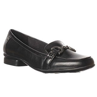 LifeStride Elegant Comfort Loafers - Black