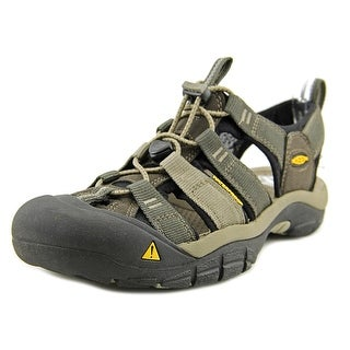 Keen Newport H2 Round Toe Leather Fisherman Sandal