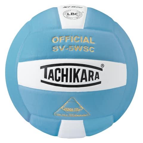 Tachikara SV5WSC Sensi-Tec Composite Volleyball (Blue/White)