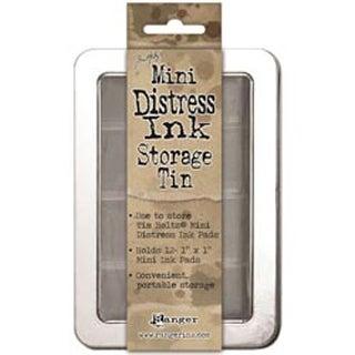 Holds 12 - Mini Distress Ink Storage Tin