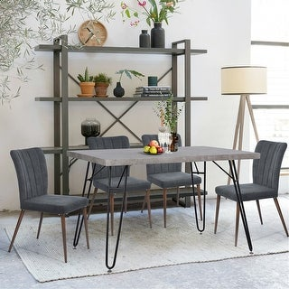 Link to Carbon Loft Searz Modern Cement Grey Dining Table Similar Items in Dining Room & Bar Furniture