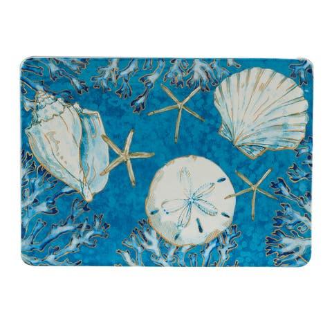 Certified International Playa Shells Rectangular Platter