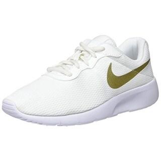 Nike Boys' Tanjun (Bg) Trainers, (Summit Metallic Gold Star-White 100)