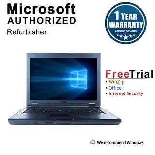 "Refurbished Dell Latitude E5400 14.1"" Laptop Intel Core 2 Duo P8400 2.26G 2G DDR2 160G DVD Win 7 Home Premium 64 1 Year Warranty"
