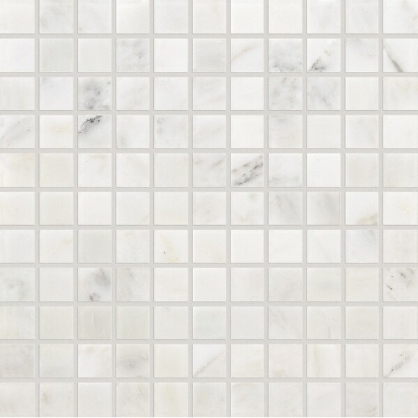 """Daltile M11MSU Marble Collection - 1"""" x 1"""" Square Mosaic Wall & Floor Tile - Honed Marble Visual"""
