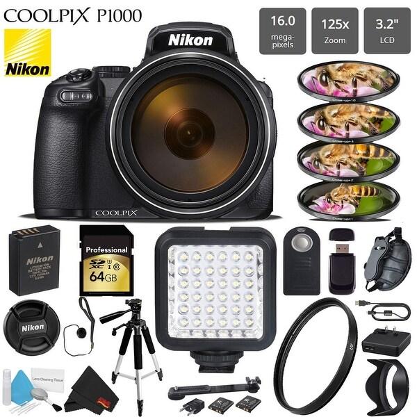Shop Nikon COOLPIX P1000 Digital Camera 16MP 125x Optical