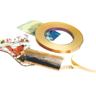 School Specialty Adhesive Backed Copper Foil Tape, 3/8 in X 36 yd