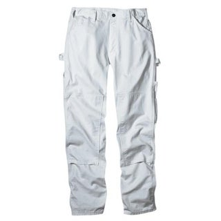 Dickies 2053WH 4032 Double Knee Painter Pants, White
