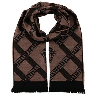 Versace IT00632 100% Wool Mens Scarf